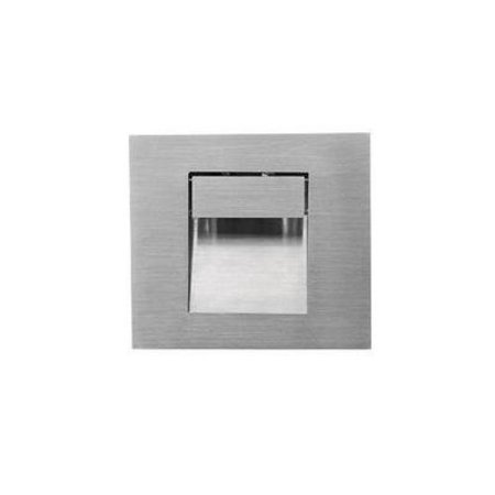 Applique murale rectangulaire LED encastrable 100mm 1W