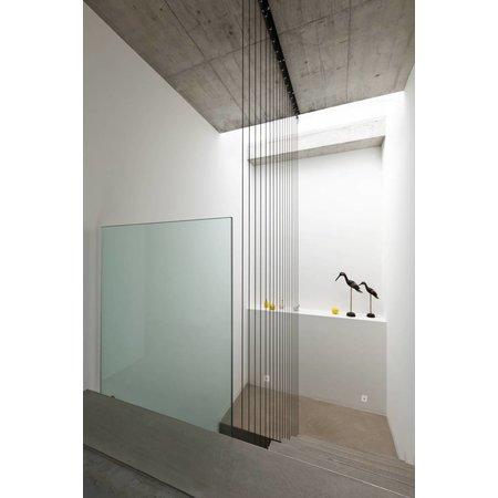 Applique murale carrée encastrable design LED 65mm 3,3W