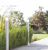 Tuinpaal verlichting zwart, grijs 500mm, 1000mm hoog E27