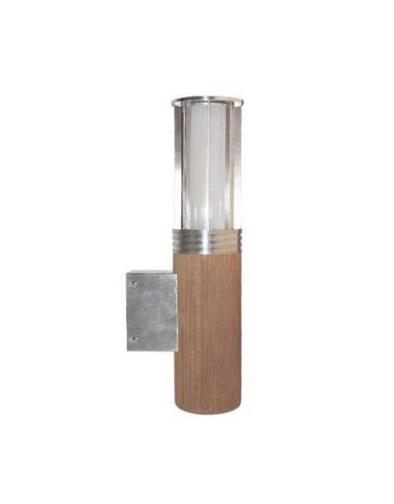 Wall light outdoor wooden 395mm E27 - Myplanetled