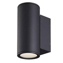 Outdoor wall light LED up down anthracite/grey 220 2x12W