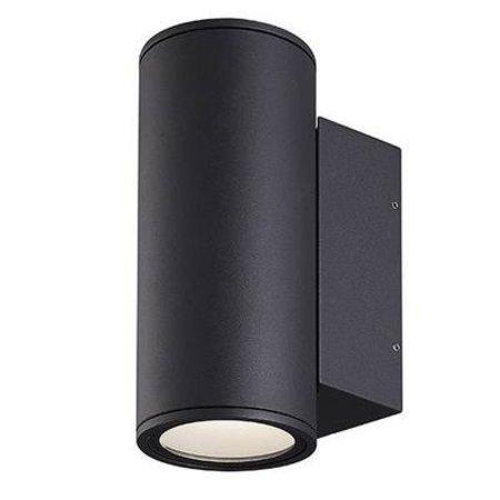 Applique murale exterieure LED anthracite/ 220mm 2x12W