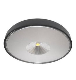 Plafonnier exterieur led carr design 230x230mm 30w for Plafonnier exterieur led