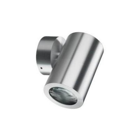 Outdoor wall light fixture grey up or down 125mm H GU10