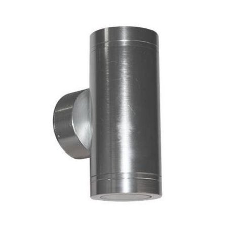 Outdoor wall light LED up down 143mm H 2x4W aluminium