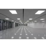 Dalle LED plafond 30x30cm éclairage carrée 18W