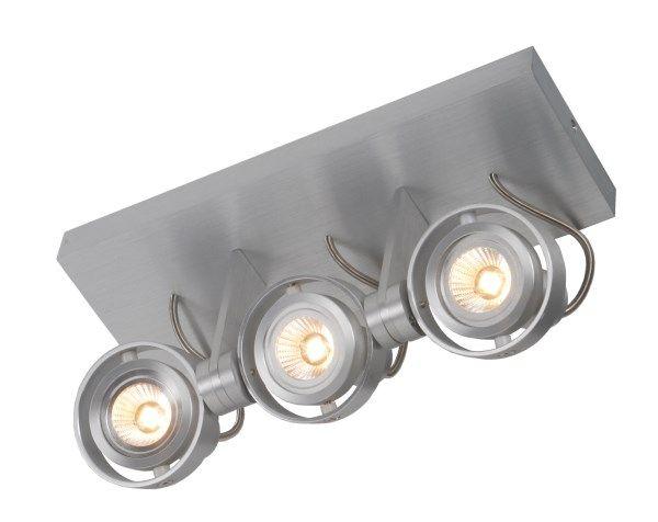 Plafondlamp led dimbaar gu w mm breed myplanetled