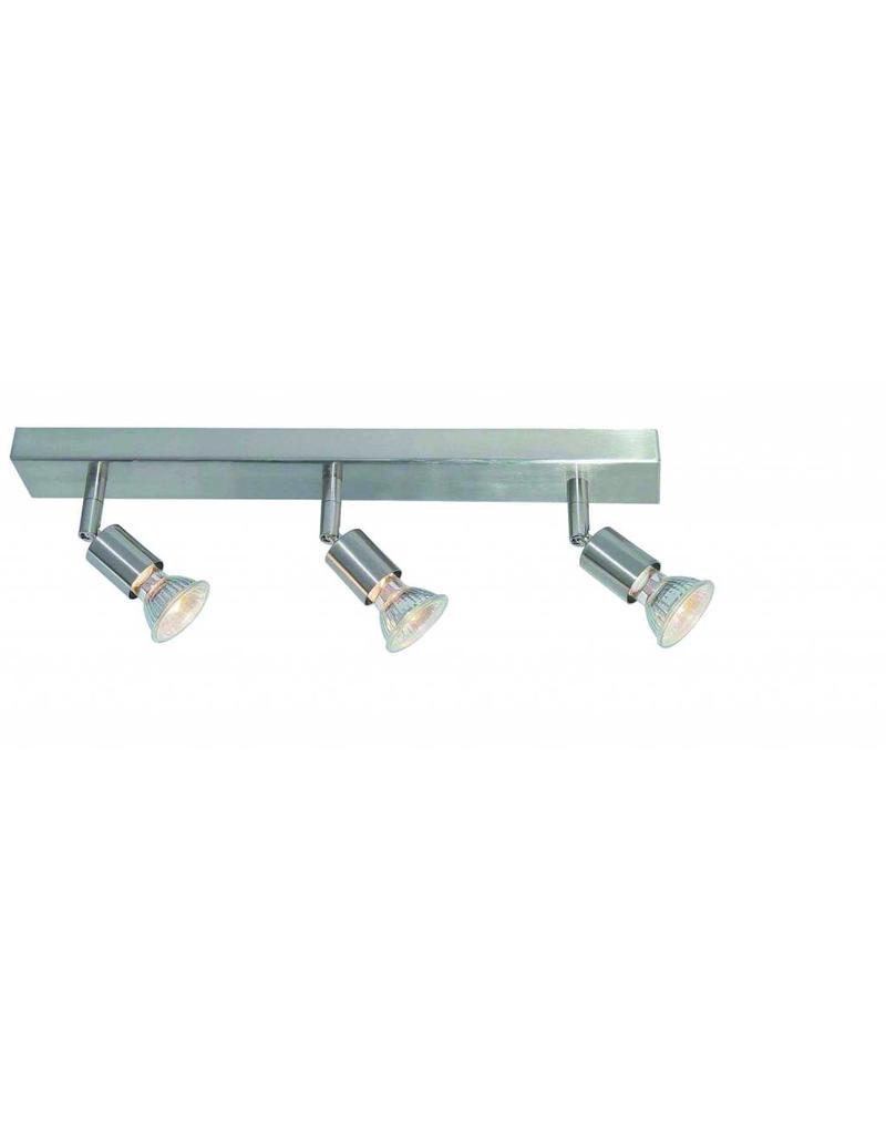 Ceiling light GU10x3 white,grey,bronze, glass support 400
