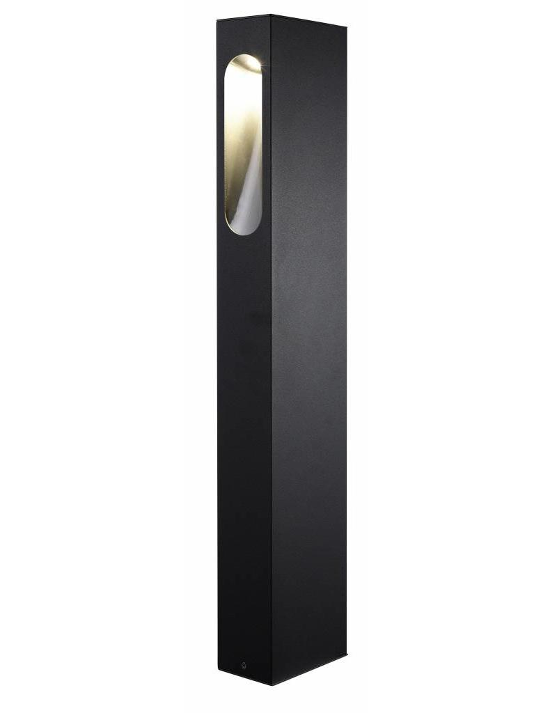 Bollard LED design white, silver, rust or graphite 650mm high 5W