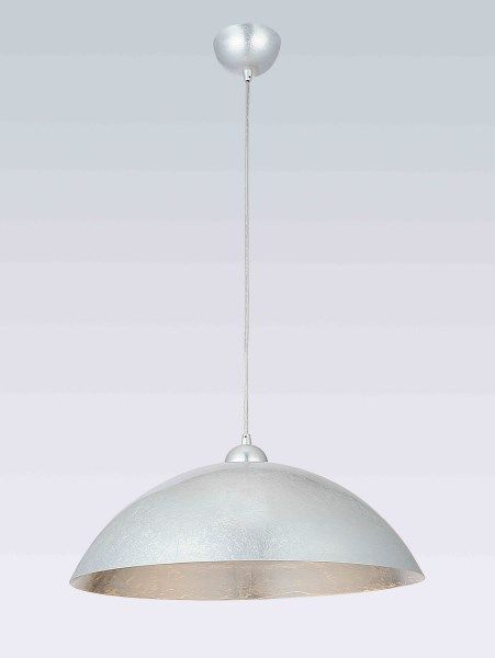 Pendant light silver E27 470mm diameter