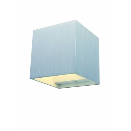 Wall light up down square grey, white, black 102mm G9