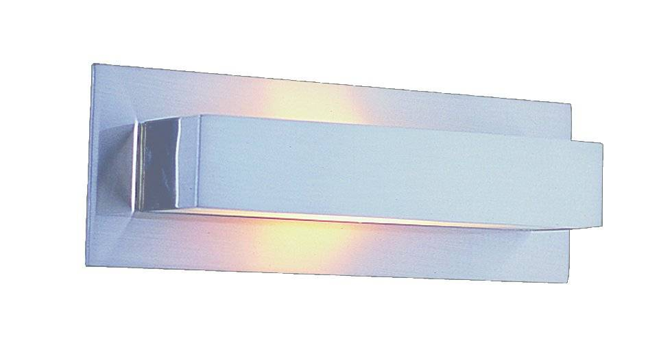 Wall light LED grey up down 210mm wide G9 2x2,6W