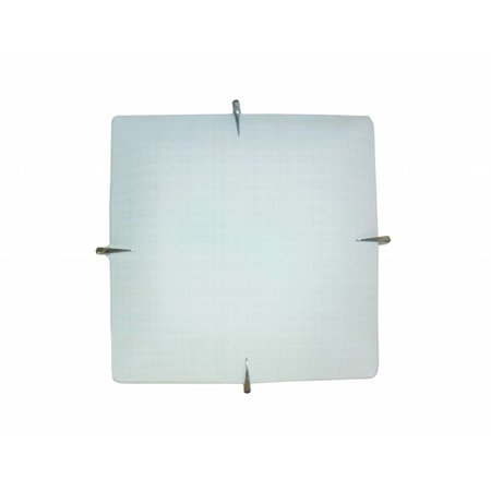 Wall light white square E27 300mmx300mm