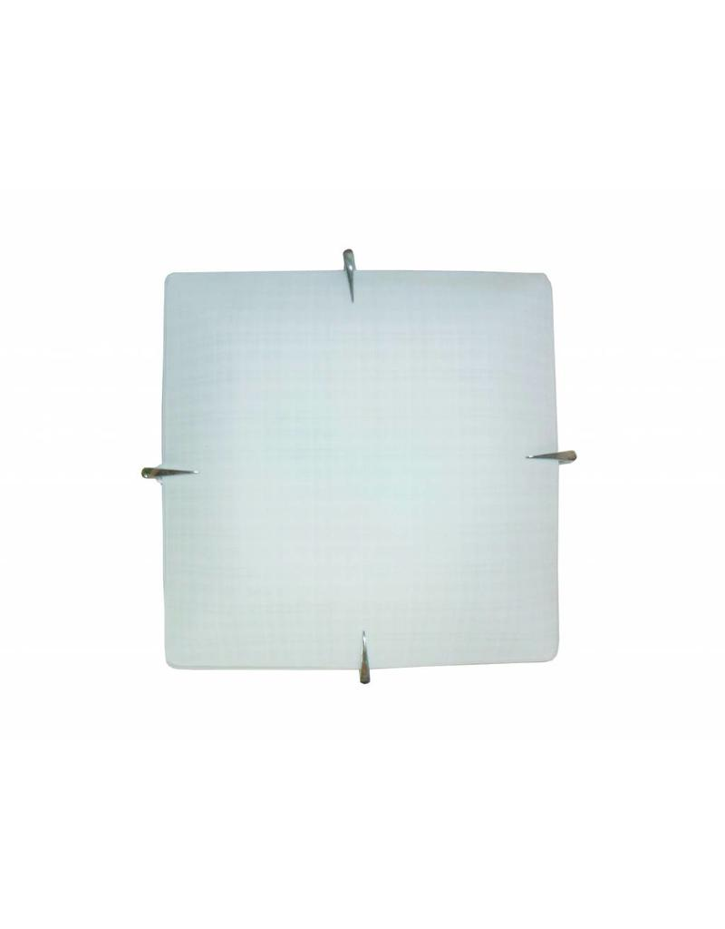 Indoor Wall String Lights : Wall light white square E27 400mmx400mm - Myplanetled