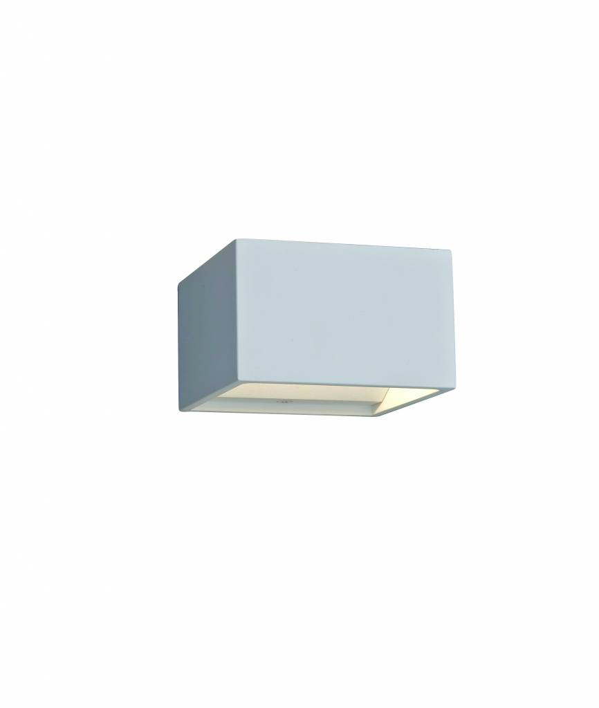 Wall light LED up down square 4W 102mmx102mm