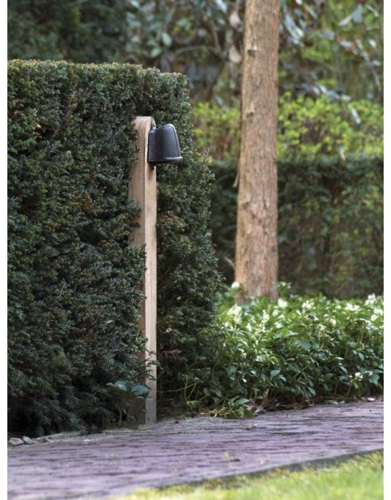 Bollard light bronze, chrome, brushed nickel rural GU10 1m
