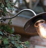 Wandlamp buiten landelijk brons-chroom-nikkel 60cm 45°