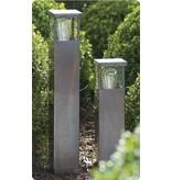 Lampadaire exterieur design bronze-chrome-nickel 60cm H