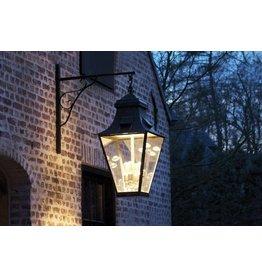 Wandlamp buiten landelijk brons, nikkel 4xGU10+4xE27
