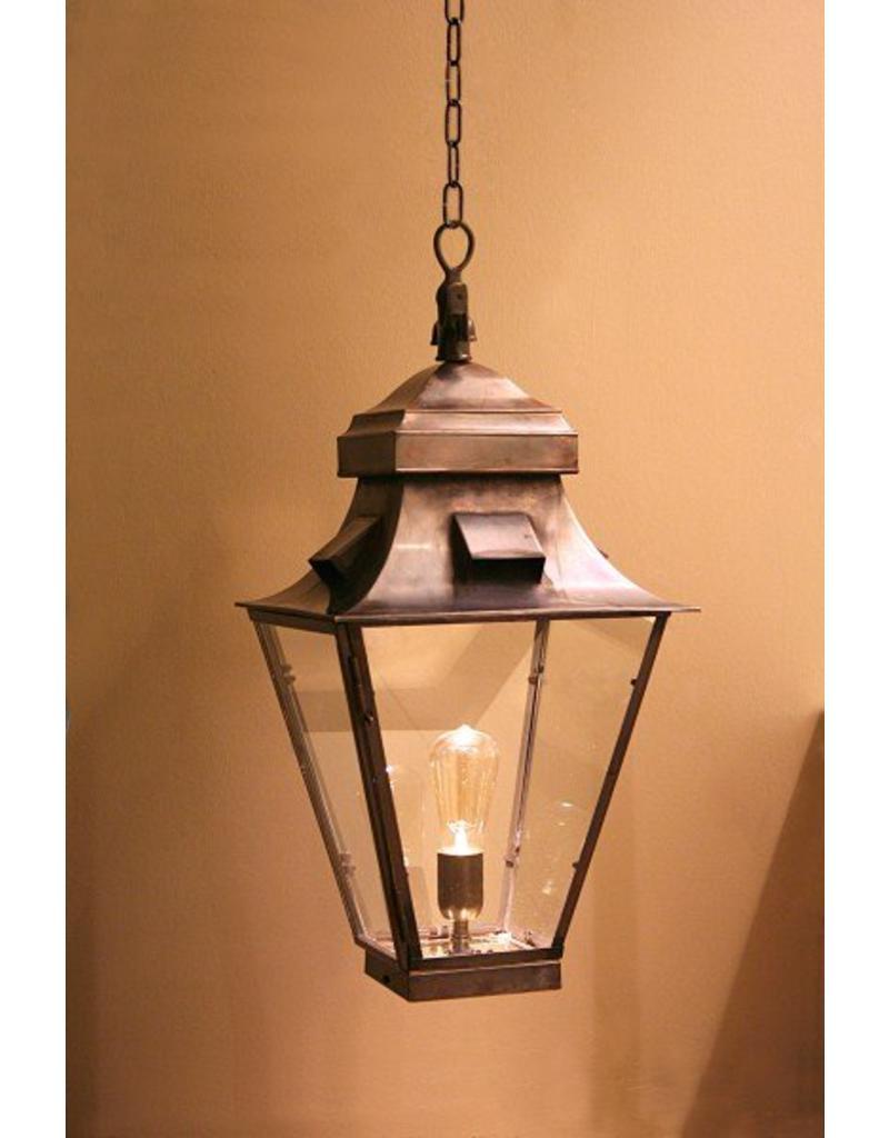 luminaire suspendu rustique lanterne bronze nickel 60cm myplanetled. Black Bedroom Furniture Sets. Home Design Ideas