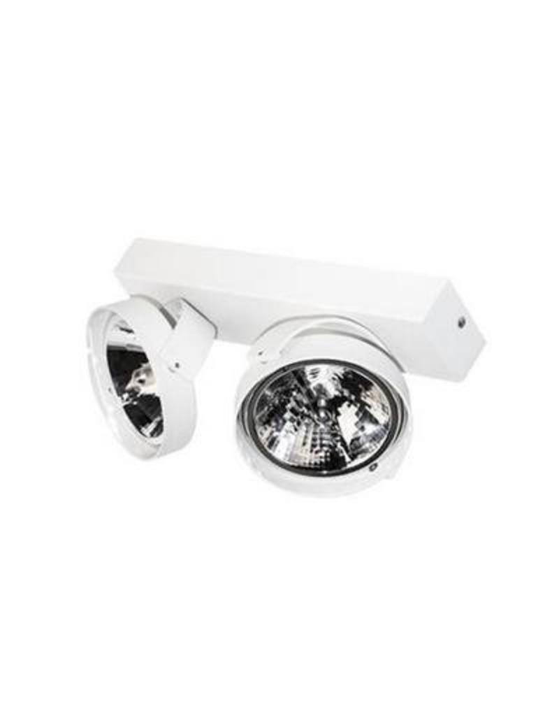 Ceiling light living room white, black or silver 295mm W