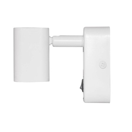 Wall light bed LED 6W white or black 85mm H orientable