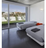 Applique murale plâtre LED carrée R7S 250mm encastrable