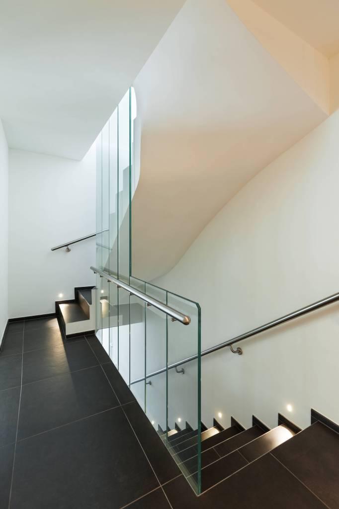 Wall light LED plaster rectangular frontal 180mm high 1W