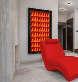 Ceiling light fixture LED orientable square 100mm W 10W