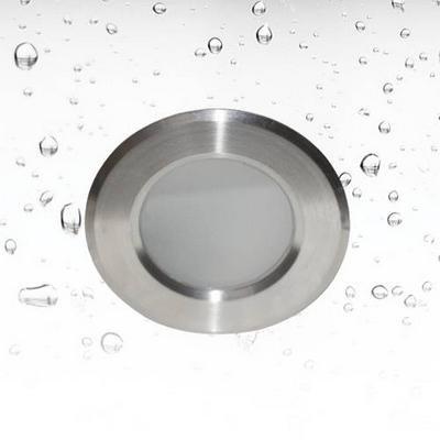 Downlight GU10 round for bathroom inox Ø 85mm GU10