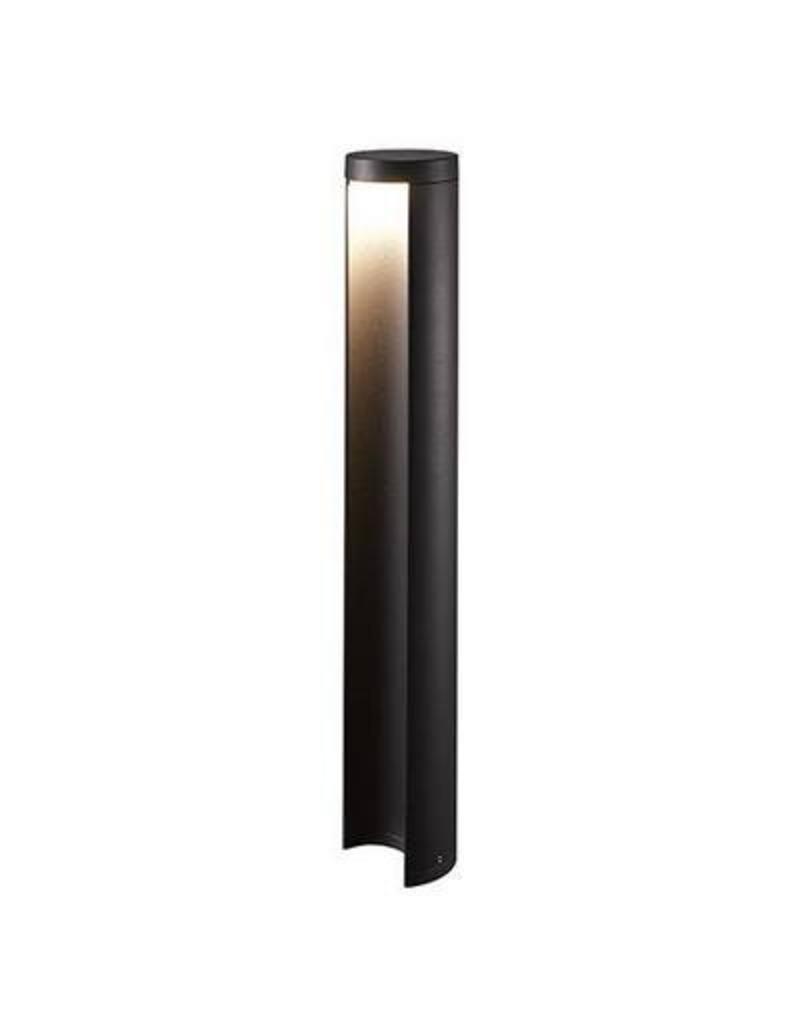 Bollard light LED design anthracite 650mm H 90mm Ø 7W