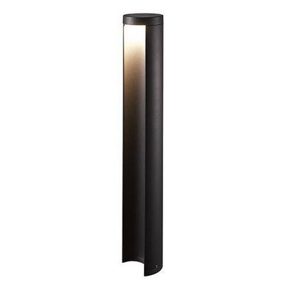 Bollard light LED design anthracite 650mm H 90mm Ø 7W
