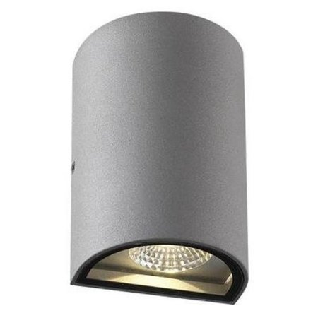 Outdoor wall light fixture LED up down 160mm high 2x4W