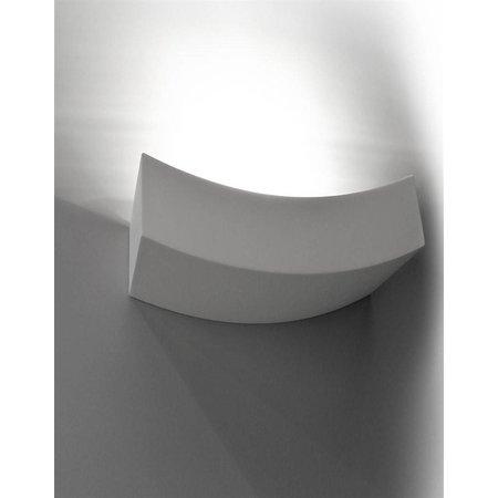 Wandlamp gips boog R7S 365mm breed