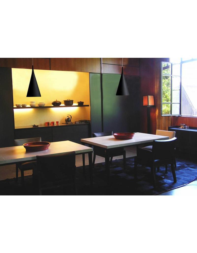 Woonkamer hoeveel lampen woonkamer : Verlichting online / Hanglamp boven eettafel chroom, wit, zwart 430mm ...