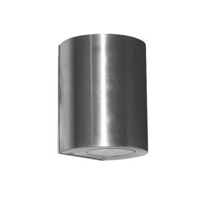 Wall light LED outdoor cylinder grey 100mm high 4W