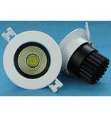 7W LED downlight 24°/60° 85mm