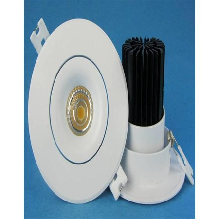 80mm cut-out downlight LED 9W orientable