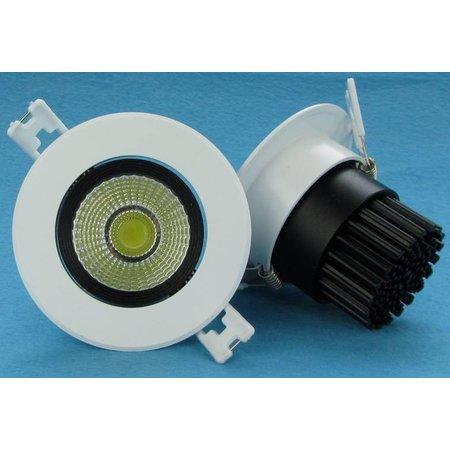 10w LED downlight tiltable 24°/60°