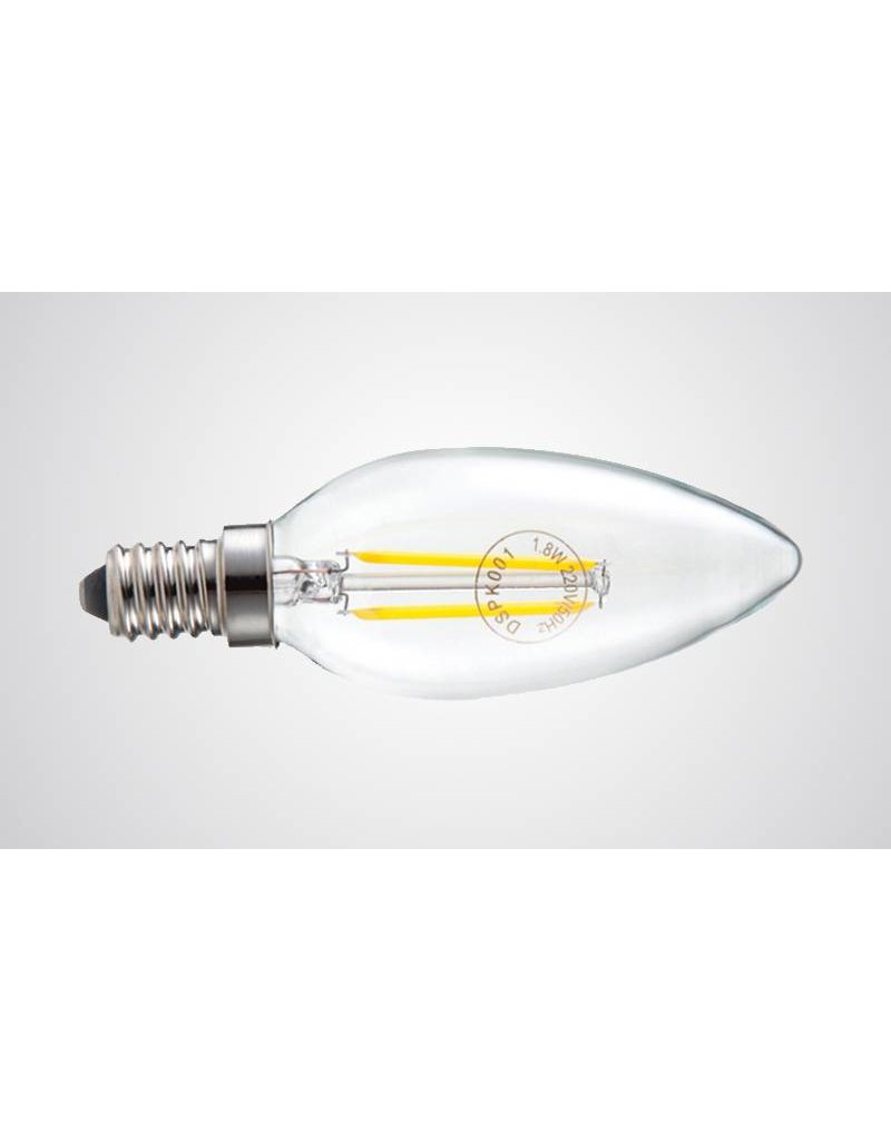 LED candle lamp dimmable 4W filament