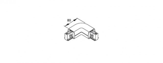 L-connector right