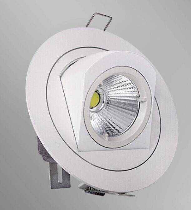 Spot encastrable led 10w 360 orientable myplanetled for Spot orientable interieur