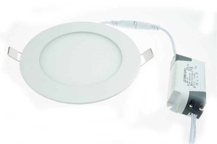 LED paneel inbouw 3W verlichting rond 90mm diameter wit | Myplanetled