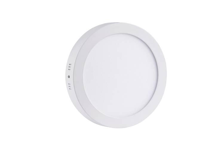 LED panel light surface mounted round 18W 225mm diameter