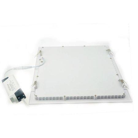LED panel light 30x30 24W square lighting recessed