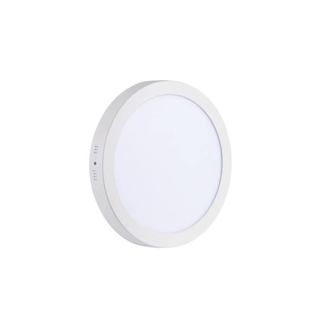 LED panel light surface mounted round 24W 300mm diameter