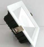 Inbouwspot LED vierkant 10W