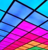 Dalle LED RVB plafond carrée 600mmx600mm 30W