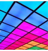 LED panel RGB square lighting colours 30W 600x600mm