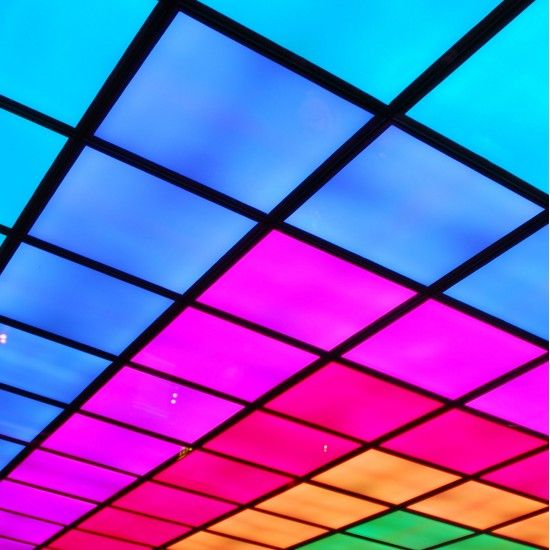 led panel rgb square lighting colours 30w 600x600mm myplanetled. Black Bedroom Furniture Sets. Home Design Ideas
